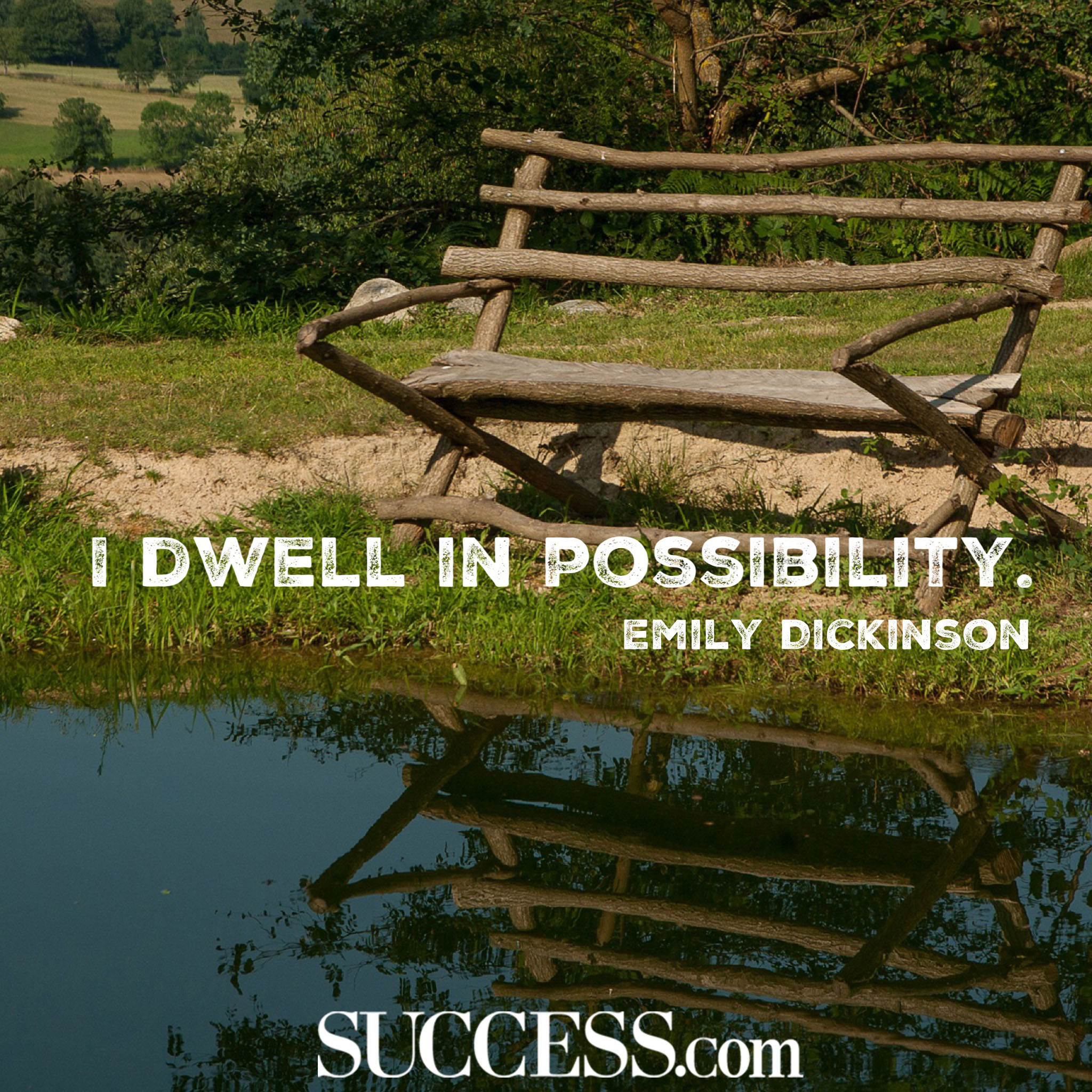 I Dwell In Possibility. by Emily Dickinson